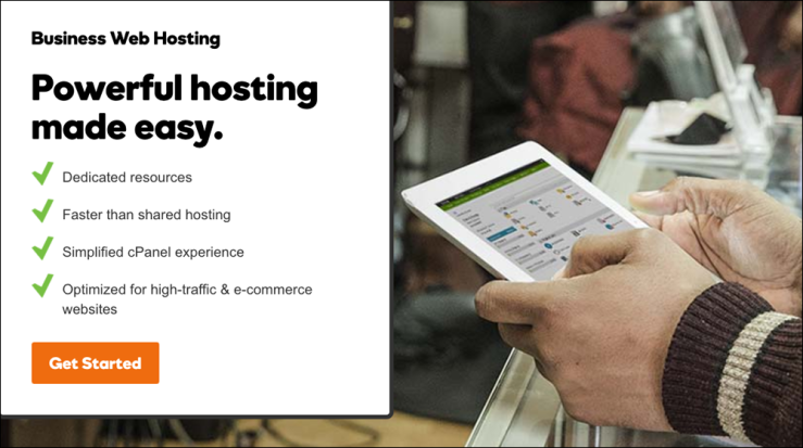 GoDaddy Launches Business Hosting for eCommerce, High Traffic Sites