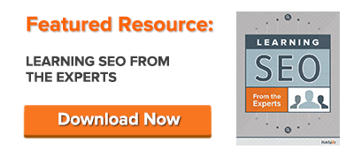 free guide: learning seo from the experts