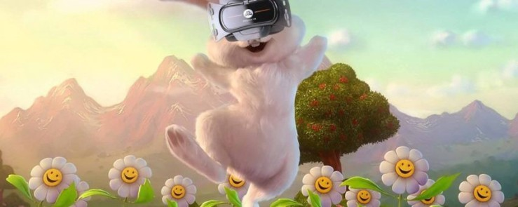20 Fun Examples of Non-Traditional Easter Promotions - Virtual Easter Egg Hunt from FreeflyVR