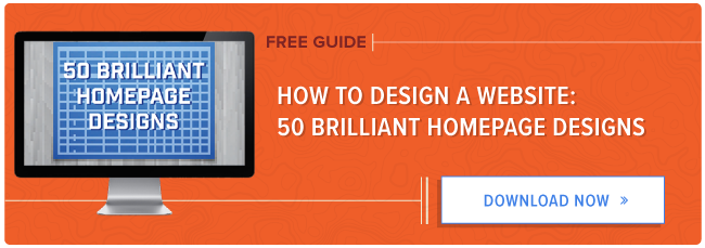 download 50 examples of brilliant homepage design