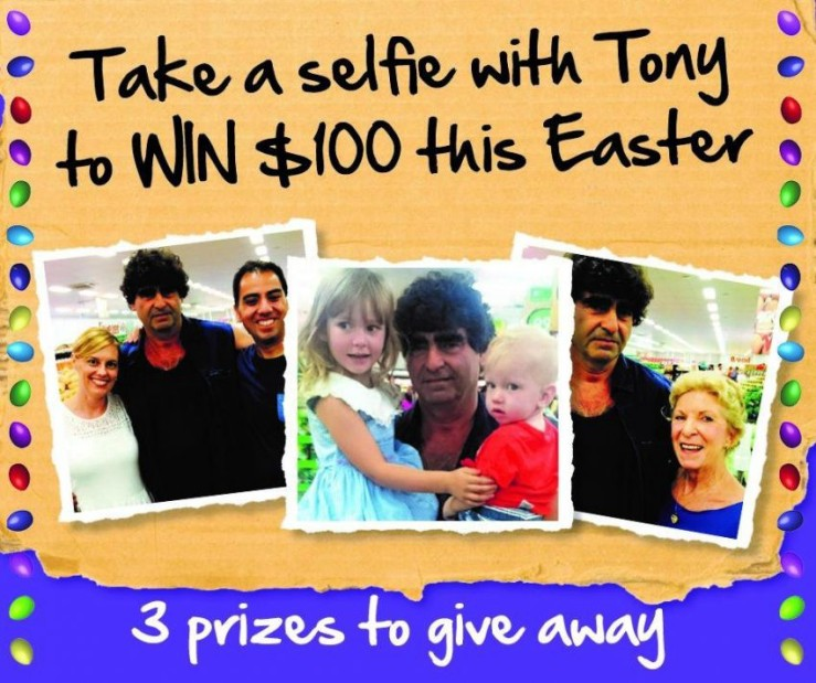 20 Fun Examples of Non-Traditional Easter Promotions - Spudshed Selfie Contest