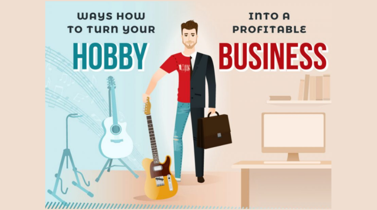 How to Turn Your Hobby Into a Business (INFOGRAPHIC)