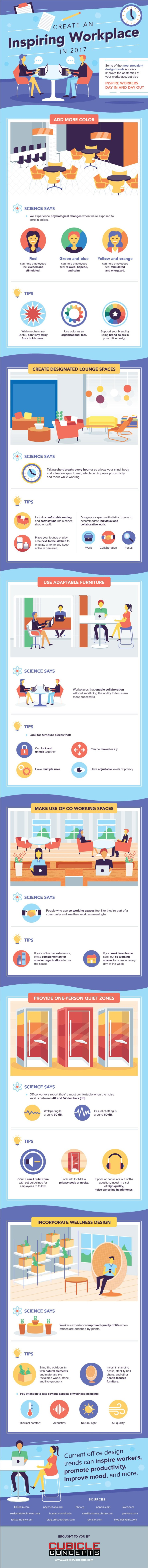 6 Design Tips to Create an Inspiring Office Space