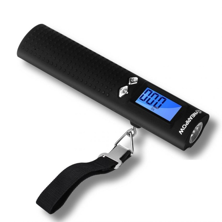 25 Travel Accessories for Women - Portable Luggage Scale and Flashlight