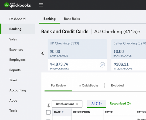 "QuickBooks Online Navigation Changes - ""Banking"" is moving to the top of your navigation bar and ""Bank Rules"" is getting its own tab"