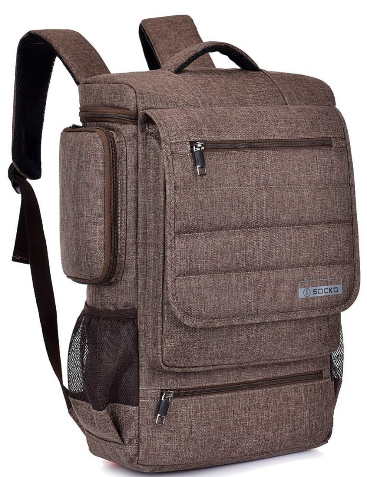 25 Travel Accessories for Women - Brinch Laptop Backpack