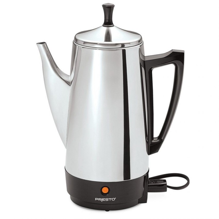 Office Coffee Machines for Your Small Business - Presto 12-Cup Stainless Steel Coffee Maker