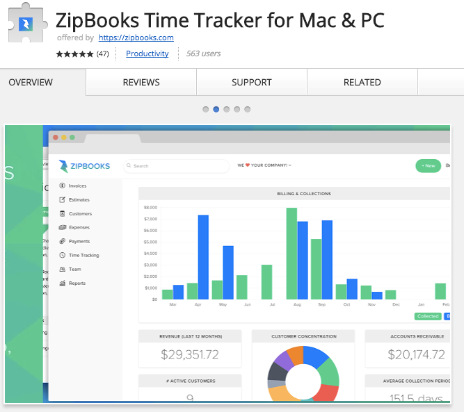 Best Chrome Extensions for Small Business - ZipBooks – Time Tracker