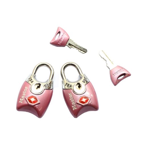 25 Travel Accessories for Women - Master Lock Luggage Locks