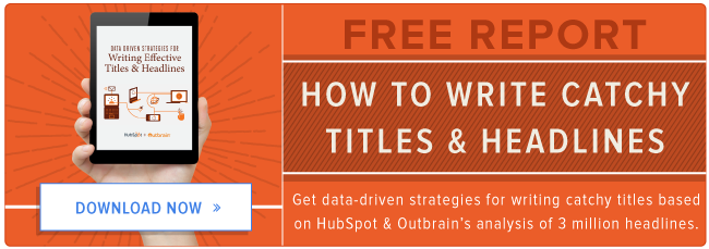 free report on writing catchy titles & headlines